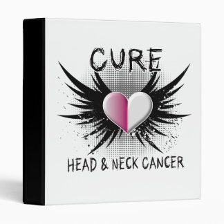 Cure Head and Neck Cancer Vinyl Binders