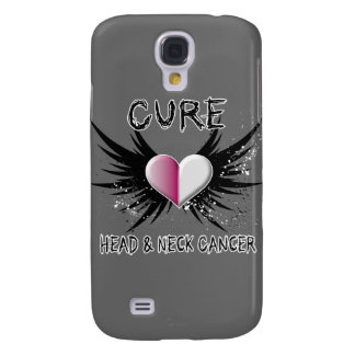 Cure Head and Neck Cancer Samsung Galaxy S4 Case