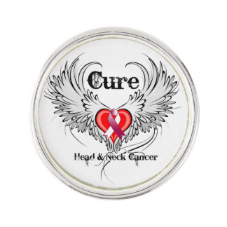 Cure Head and Neck Cancer Pin