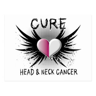 Cure Head and Neck Cancer Postcard