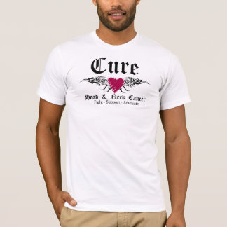 Cure Head and Neck CancerTattoo Wings T-Shirt