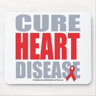 Cure Heart Disease Mouse Pad