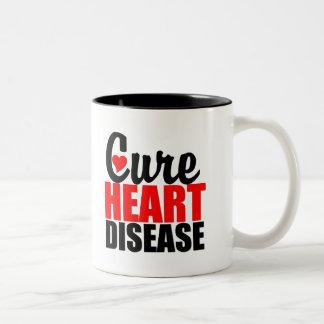 Cure Heart Disease Mug