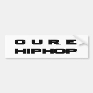 CURE HIP HOP Merchandise Bumper Sticker