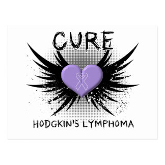 Cure Hodgkin's Disease Postcard