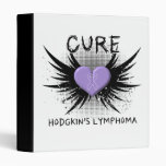 Cure Hodgkin's Disease Vinyl Binders