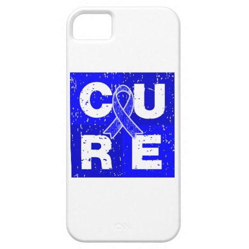 CURE Huntington's Disease Cube iPhone 5 Case