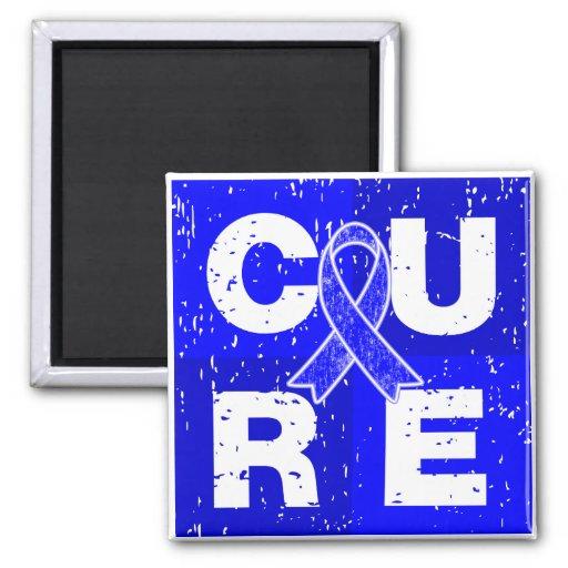 CURE Huntington's Disease Cube Magnet