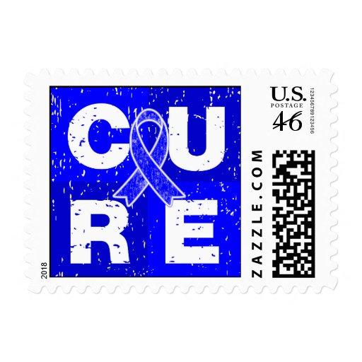 CURE Huntington's Disease Cube Postage