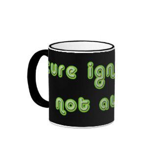 Cure Ignorance (Green) Mugs