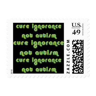 Cure Ignorance (Green) Stamps