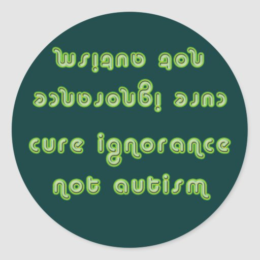 Cure Ignorance (Green) Stickers
