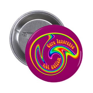 Cure Ignorance Swirl Buttons