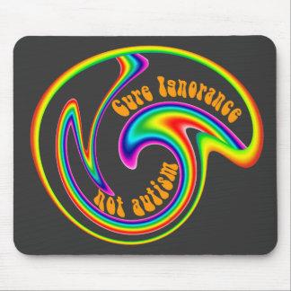 Cure Ignorance Swirl Mousepad