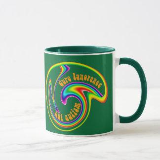 Cure Ignorance Swirl Mugs