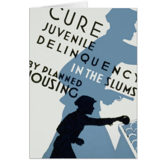 Cure Juvenile Delinquency Greeting Card