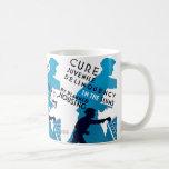 Cure Juvenile Delinquency in the Slums Coffee Mug