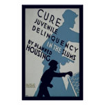 Cure Juvenile Delinquency Poster