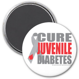 Cure Juvenile Diabetes Fridge Magnet