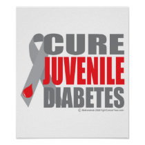 Cure Juvenile Diabetes Poster