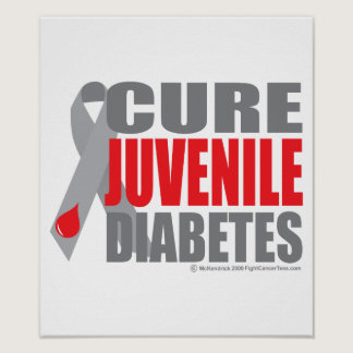 Cure Juvenile Diabetes Poster