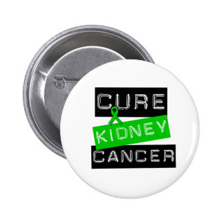 Cure Kidney Cancer (green) 2 Inch Round Button