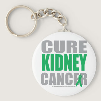 Cure Kidney Cancer Keychain