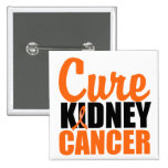 Cure Kidney Cancer Pinback Button