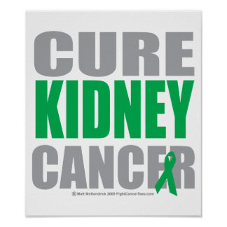 Cure Kidney Cancer Poster