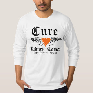 Cure Kidney Cancer Tattoo Wings 2 T-shirt