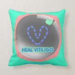 Cure la almohada de Vitiligo