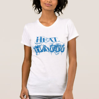 Cure la camiseta de Haití Remera