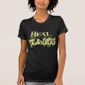 Cure la camiseta del vintage de Haití