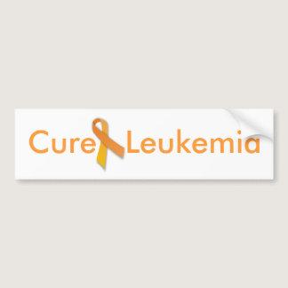 Cure Leukemia Bumper Sticker