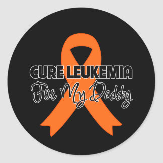 Cure Leukemia For My Daddy Stickers