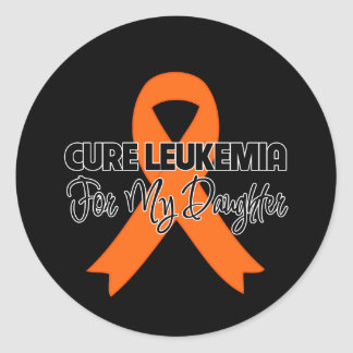 Cure Leukemia For My Daughter Sticker