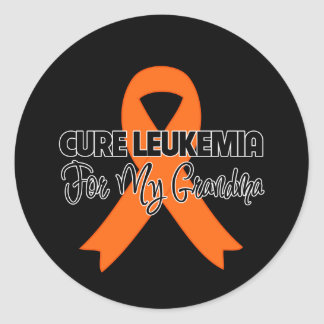 Cure Leukemia For My Grandma Stickers