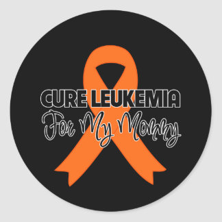Cure Leukemia For My Mommy Sticker