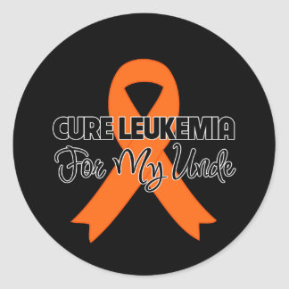Cure Leukemia For My Uncle Stickers