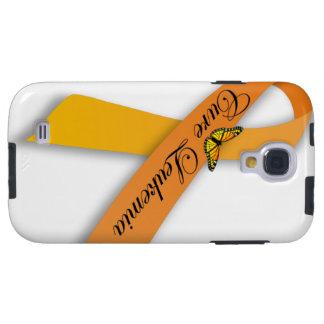 Cure Leukemia Orange Ribbon Samsung Galaxy S4 Case