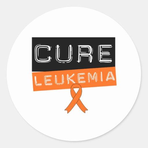 Cure Leukemia Sticker