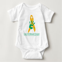 CURE Liver Cancer Baby Bodysuit