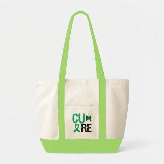 Cure Liver Cancer Canvas Bag