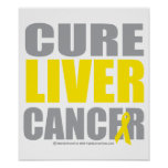 Cure Liver Cancer Print