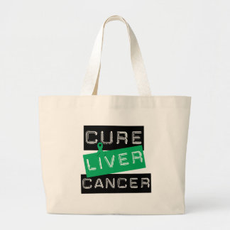 Cure Liver Cancer Tote Bags