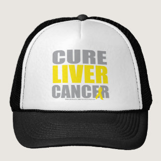 Cure Liver Cancer Trucker Hat