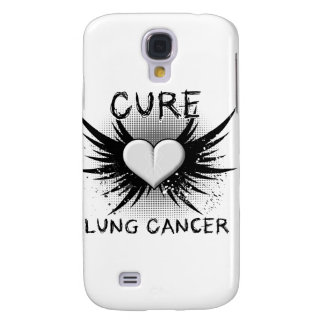 Cure Lung Cancer Galaxy S4 Cases