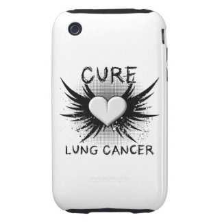 Cure Lung Cancer iPhone 3 Tough Cover