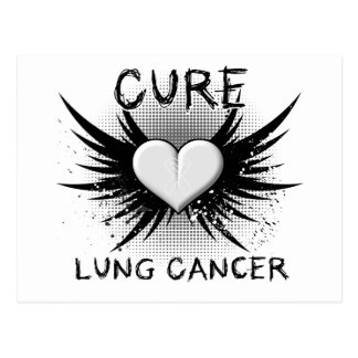 Cure Lung Cancer Postcard