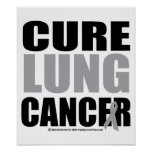 Cure Lung Cancer Print
